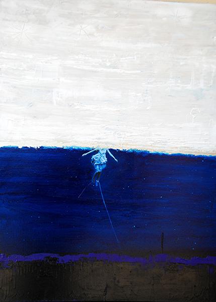 Scenografie - Jesper Bodilsen - Senza Titolo - 70x100 cm - tecnica mista su tela.