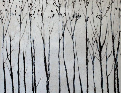 Paesaggio bianco