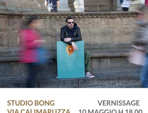 ART EXIBITION DI LAPO GARGANI ALLO STUDIO BONG
